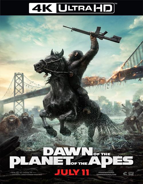 تحميل فيلم Dawn of the Planet of the Apes 2014 مترجم [4K]