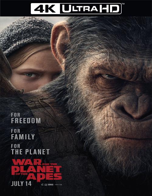 تحميل فيلم War for the Planet of the Apes 2017 مترجم [4K]